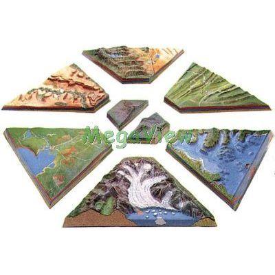 地球科學教學模型